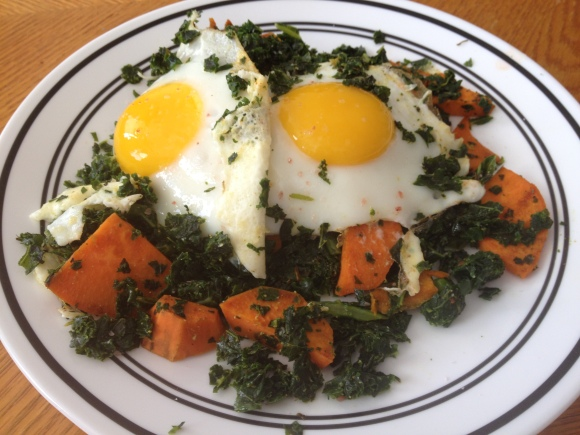 Eggs, Yams, and Kale